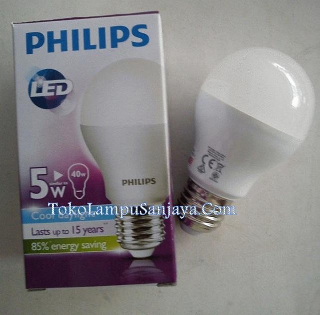 Jual Bohlam Lampu Philips LED E27 5-w