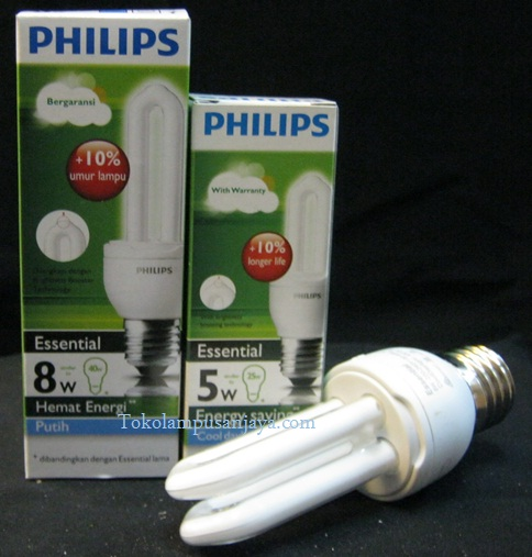 Lampu Philips Essential 5w dan 8w