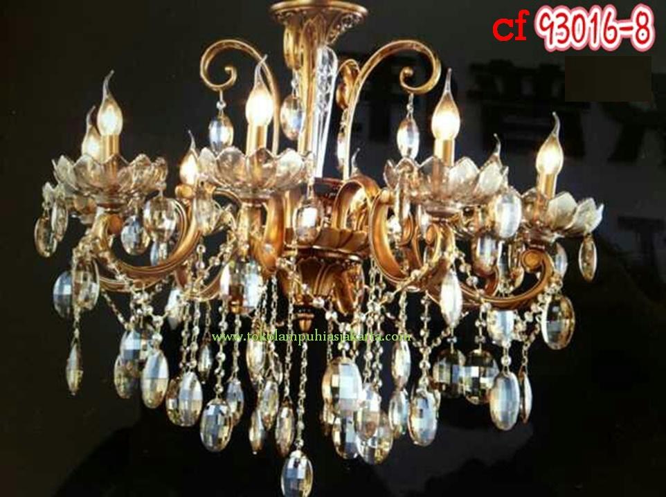 Lampu Kristal Minimalis Lampu Gantung Kristal 93016-8