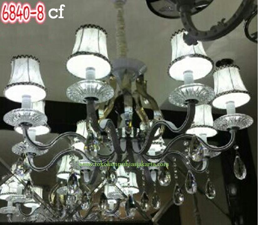 Lampu Kristal 6840-8 CF