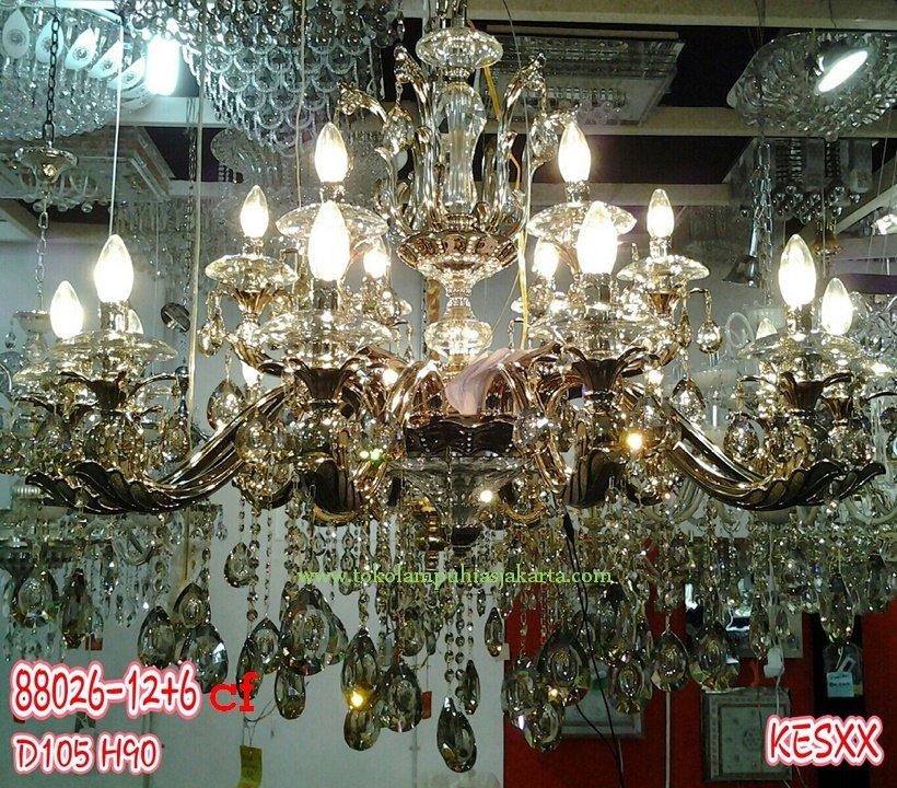 Lampu Kristal 88026-12+6 CF