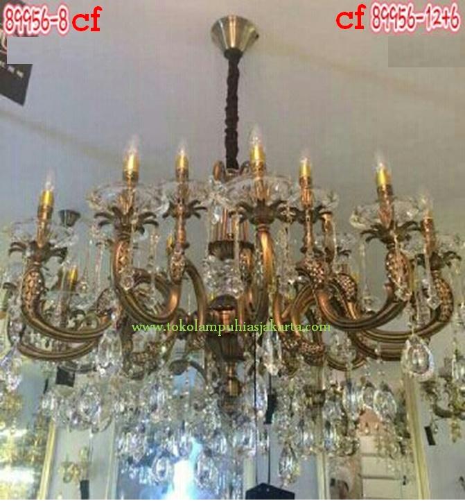 Lampu Kristal 89956-12+6 CF