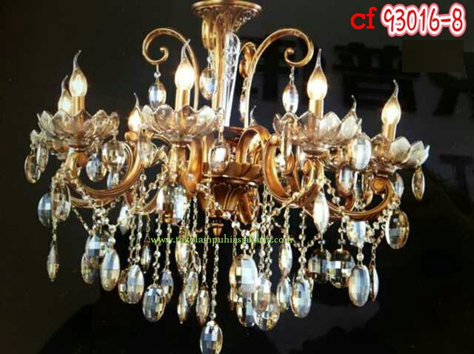 Lampu Kristal 93016-8 CF
