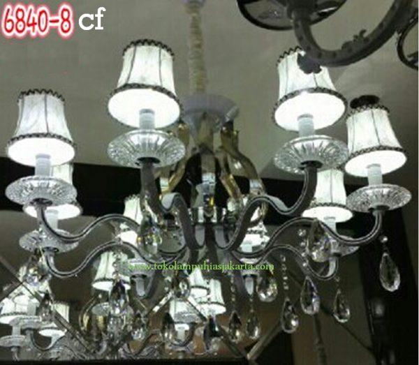 Lampu Krystal CF 6840-8