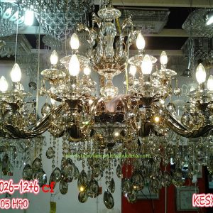 Lampu Krystal CF 88026-12-6