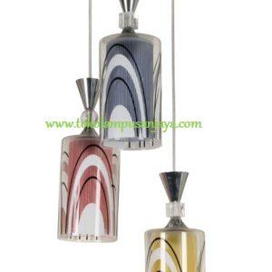 Lampu Gantung Minimalis 3 Lampu AL SKP 6766-3