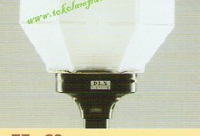 Lampu Taman TF-69  Frosted Glass