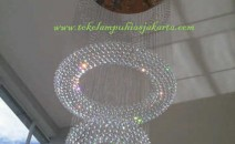 Lampu Plafon DSG BOLA DONAT Kristal