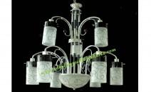 Lampu Gantung Kaca Dua Susun MM.90056