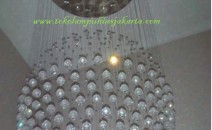 Lampu Plafon DSG BOLA 1 SLING Kristal