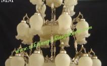 Lampu Gantung Kaca Tiga Susun ABYL 7229