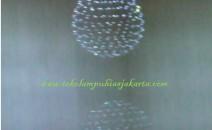Lampu Kristal Plafon DSG BOLA 2 SLIG