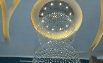 Lampu Plafon DSG BOLA 2 SLING Kristal