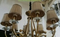 Lampu Kap Gantung 6643-8-CF-Kap