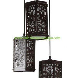 Lampu Gantung Minimalis 3 Lampu AL SKP 6690-3