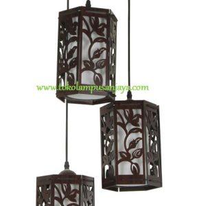 Lampu Gantung Minimalis 3 Lampu AL SKP 6697-3