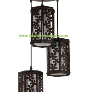 Lampu Gantung Minimalis 3 Lampu AL SKP 6700-3