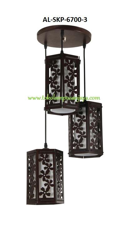 Lampu Gantung Minimalis 3 Lampu Al Skp 6700 3 Harga Lampu